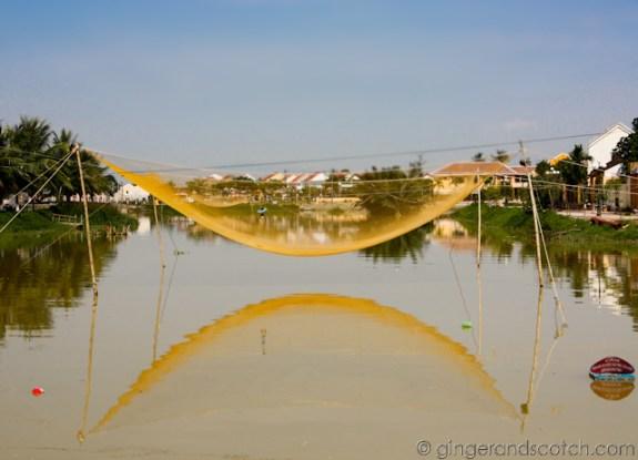 Hoi An - fishing net 2