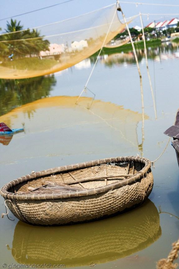 Hoi An - fishing net