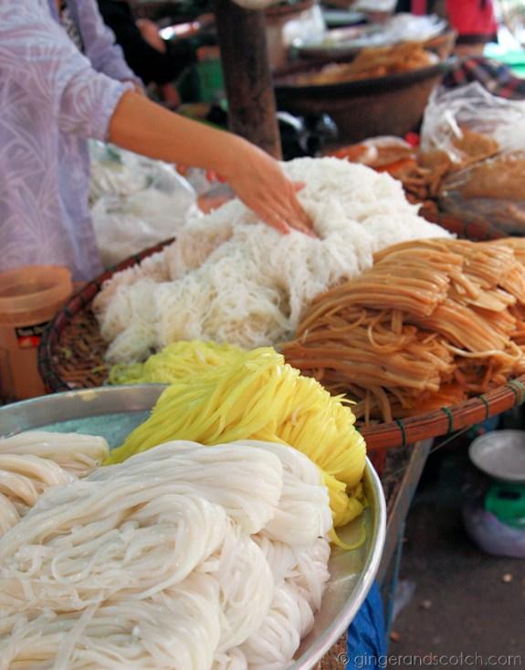 Hoi An Market - Noodles