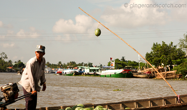 Mekong - Floating Market 1