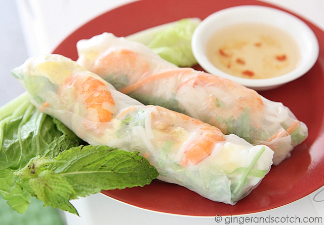 Goi Cuon - fresh summer rolls