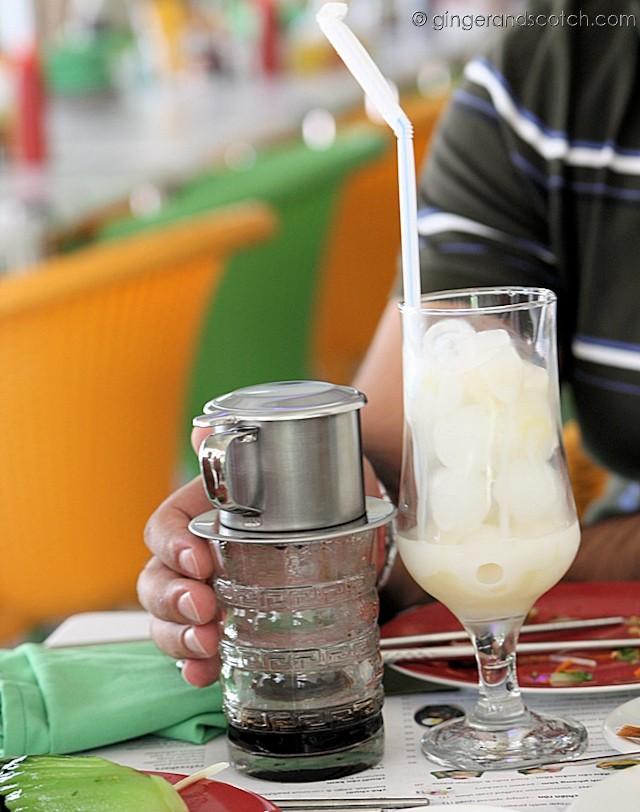 Caphe Sua Da - ice coffee