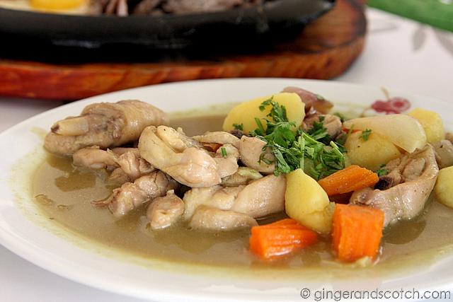 Ga Cari - Vietnamese chicken stew