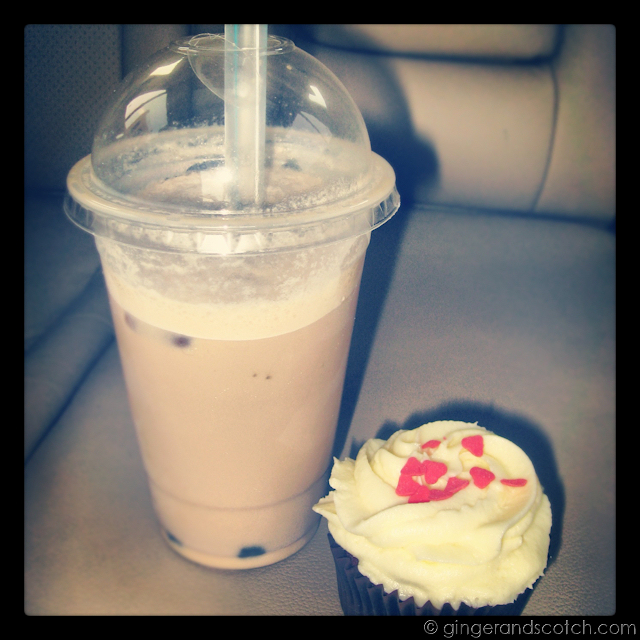 Kitsch Bubble Tea and Cupcake - Dubai