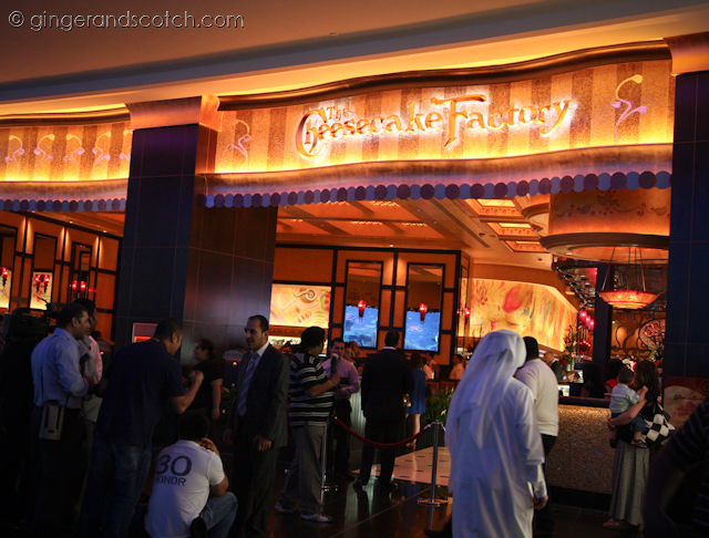 Cheesecake Factory - Dubai Mall