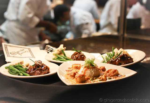 Bang Bang Chicken and Salisbury Steak @ Cheesecake Factory Dubai