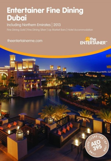Entertainer - Fine Dining - Dubai 2013