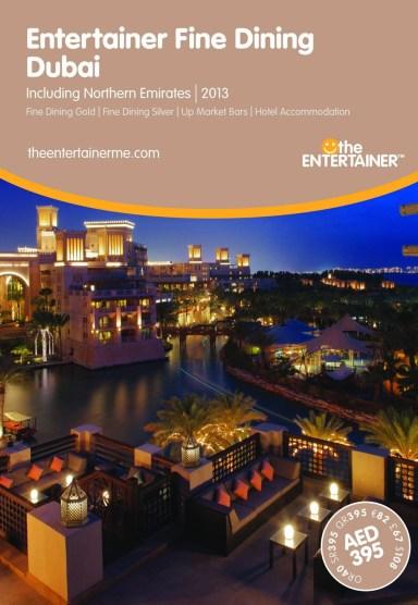 Entertainer - Fine Dining - Dubai 2013