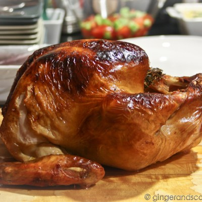Thanksgiving in Dubai 2012 – Turkey, Gravy-making and Jello Shots