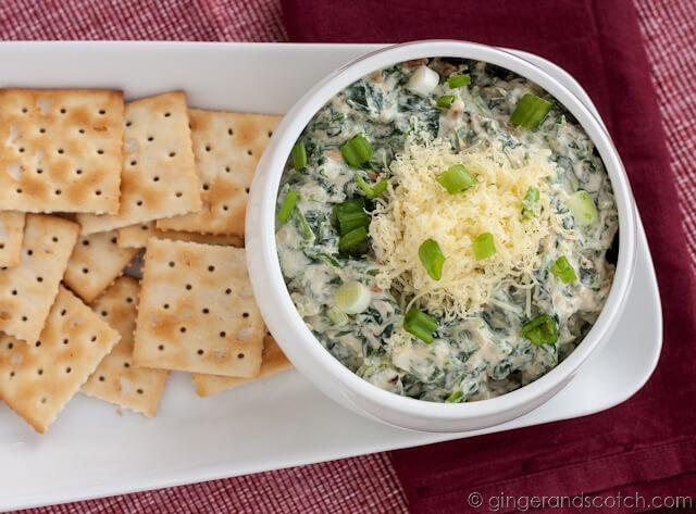 Spinach Sour Cream Dip