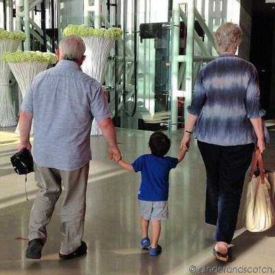 Papa and Rara Back in Dubai