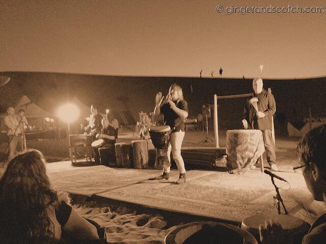 Julie-Ann Odell -  Dubai Drums