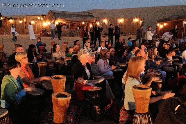 Dubai Drums - Full Moon Drumming
