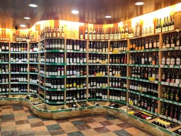 Wine Section at Jenny Lou's