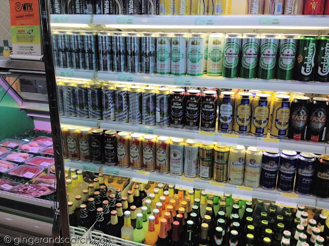 Beer at Jenny Lou's Supermarket