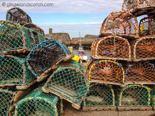 Lobster Traps at Dunbar Harbor