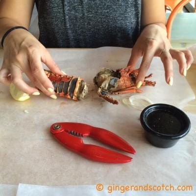Mr. Crab  (the new seafood joint in Barsha)