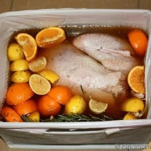 Brining Thanksgiving Turkey