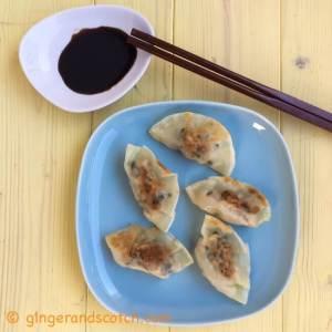 Pork and Garlic Chive Dumplings
