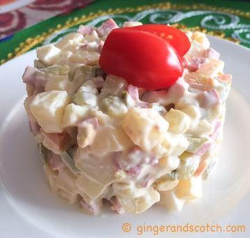 Russian potato salad