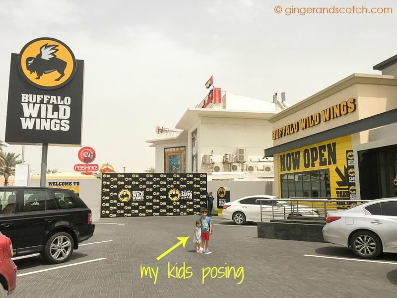 Buffalo Wild Wings Restaurant in Dubai