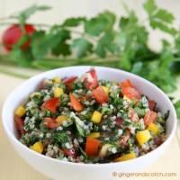 Tabbouleh Salad with Quinoa