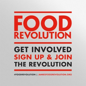 Jamie Oliver's Food Revolution logo