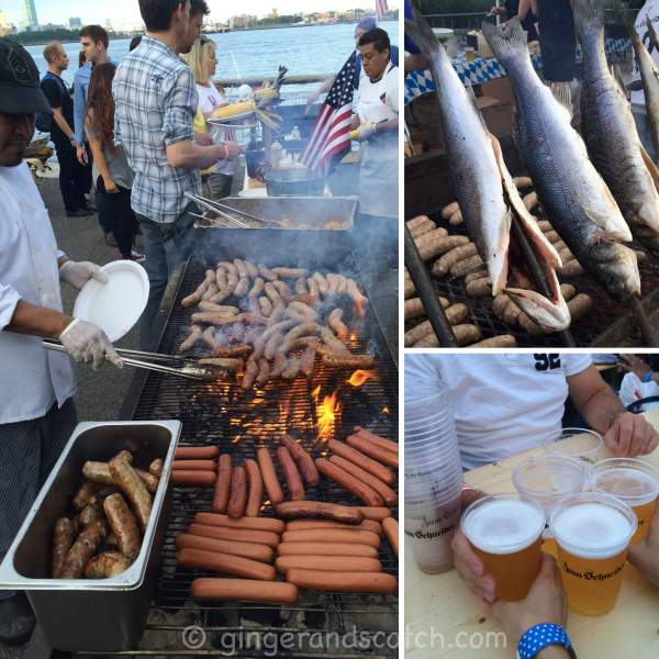 July 4th 2015 @ Zum Schneider Biergarten, NYC