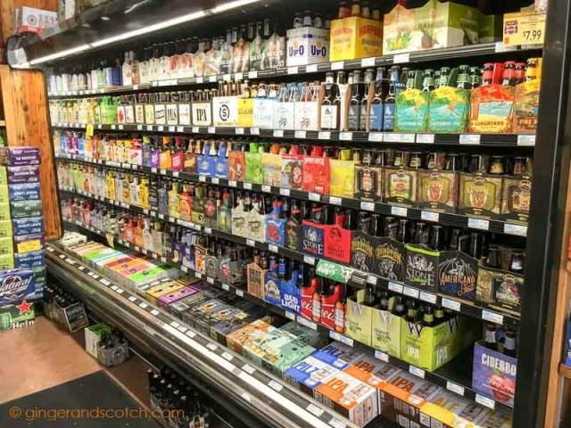 Chilled Beer Section at Grocery Store, NYC