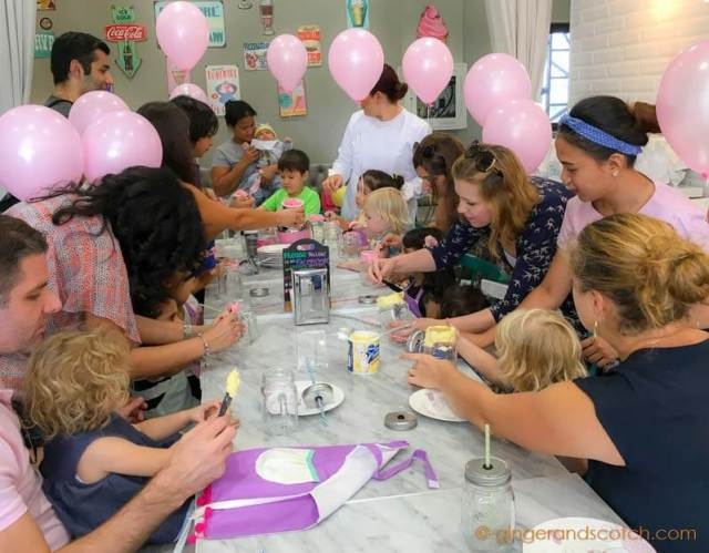 Kids' Birthday Party at Ella's Creamery in Dubai Parks and Resorts