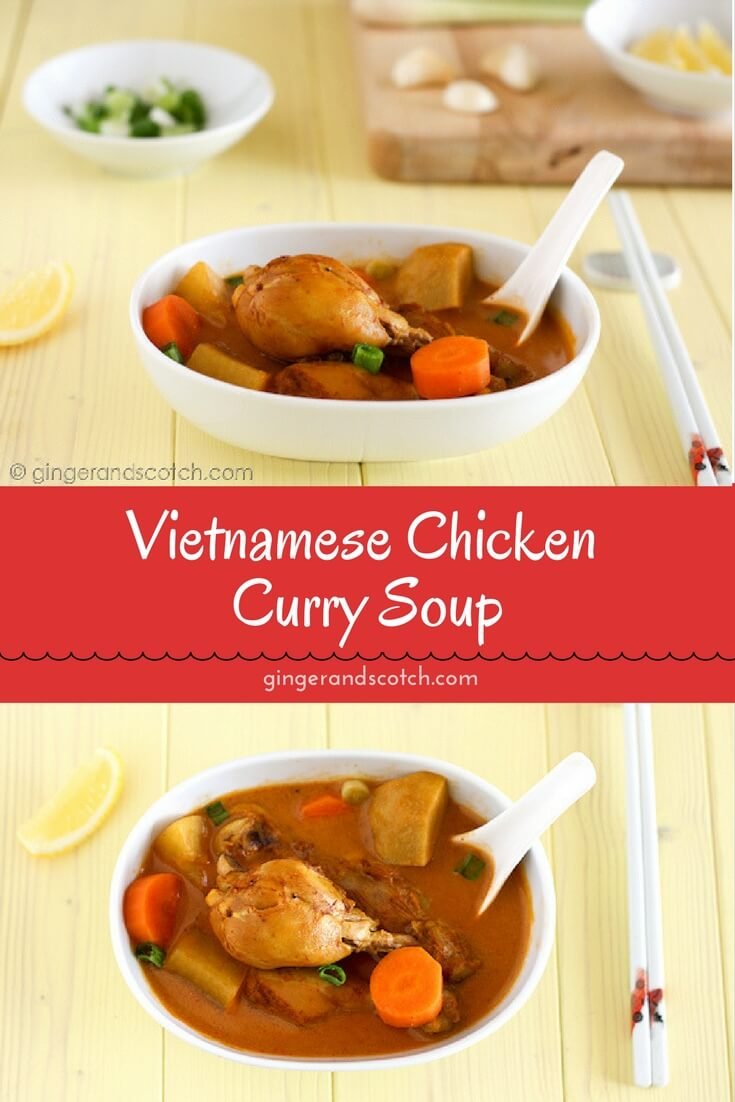 Make this Vietnamese chicken curry with store-bought or with my homemade Vietnamese curry powder. Like all stews, it tastes better the next day and also freezes very well.