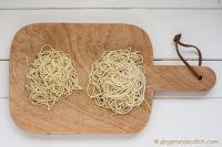 Homemade fresh ramen noodles from scratch (Alkaline Noodles)