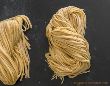 Alkaline Chinese Egg Noodles