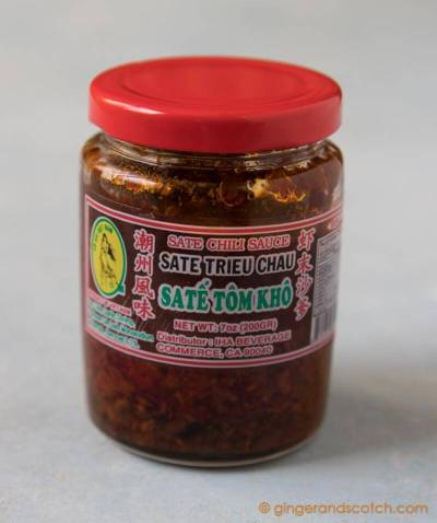 Chili Sauce used for Vietnamese Sate Noodles (Mi Bo Sate)