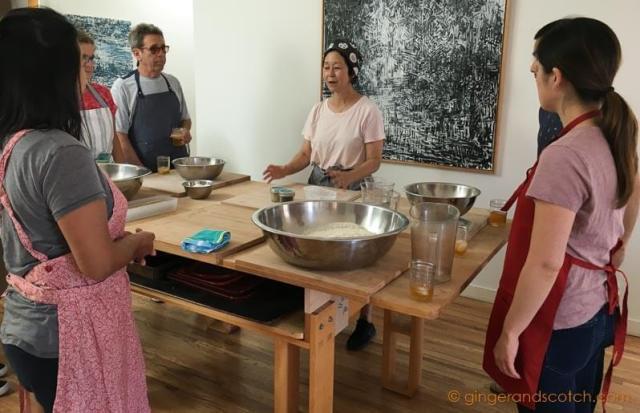 Soba Noodle Class in California with Sonoko Sakai