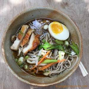 Soba Noodles From Scratch