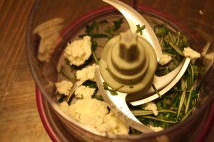 Riccotta, mint, rosemary and thyme