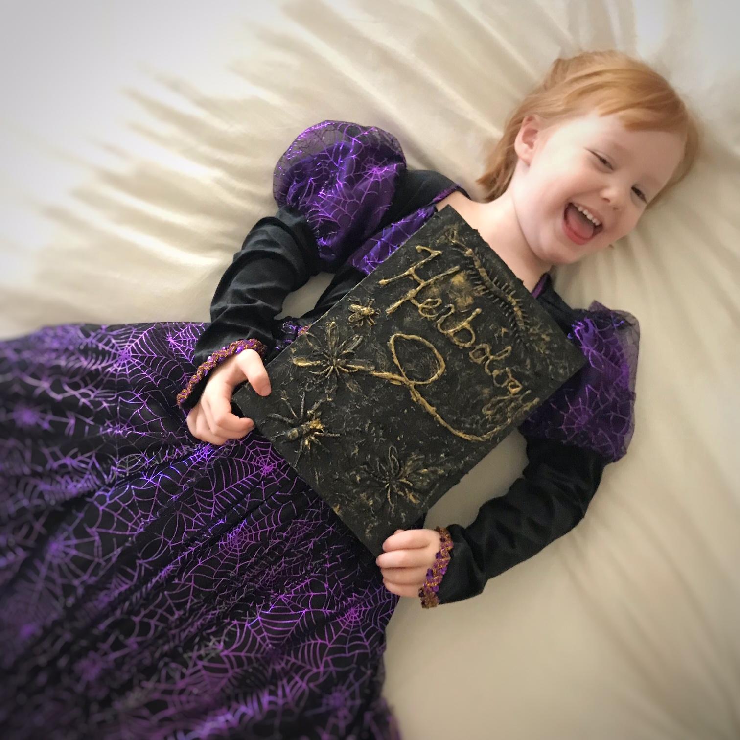Halloween Spellbook Craft