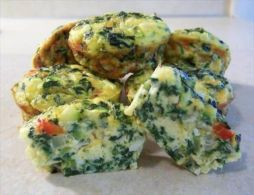 South Beach Veggie Quiche Cups