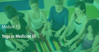 Yoga as Medicine III (Module 15) – Fall 2018