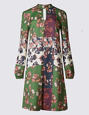 Marks-and-Spencer-Patchwork-Dress