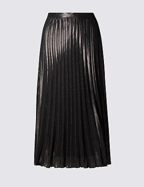 Marks-and-Spencer-Pleated-Skirt