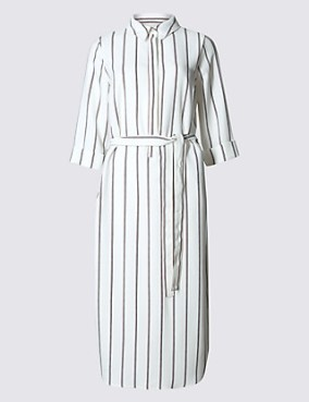 Marks-and-Spencer-Stripe-Dress