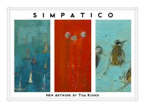 Tom Kunke Art; Flat invitation: Front