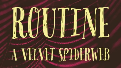 Routine -- the velvet spiderweb