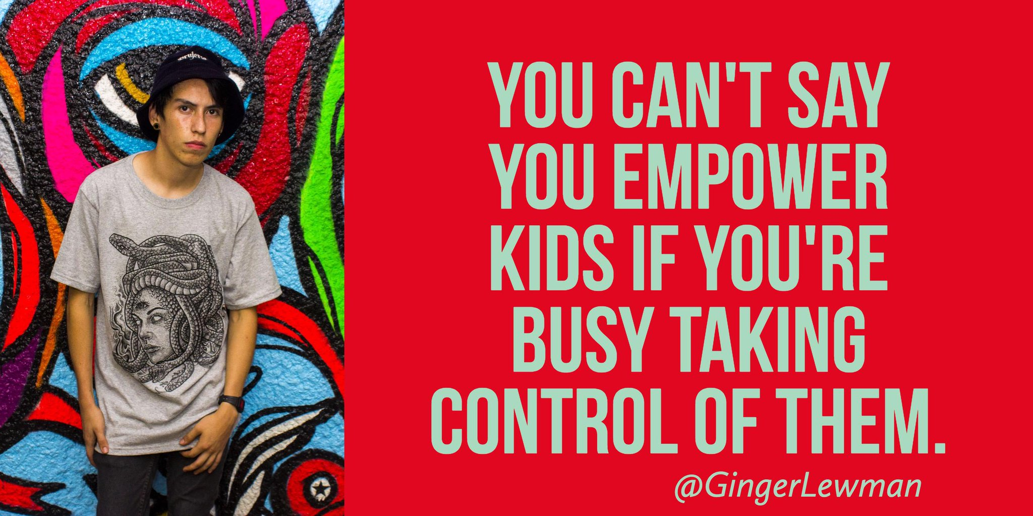 You Can't Say You Empower When You're Taking Control