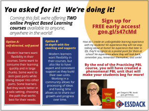 PBL Online Course, Project Based Learning, Ginger Lewman