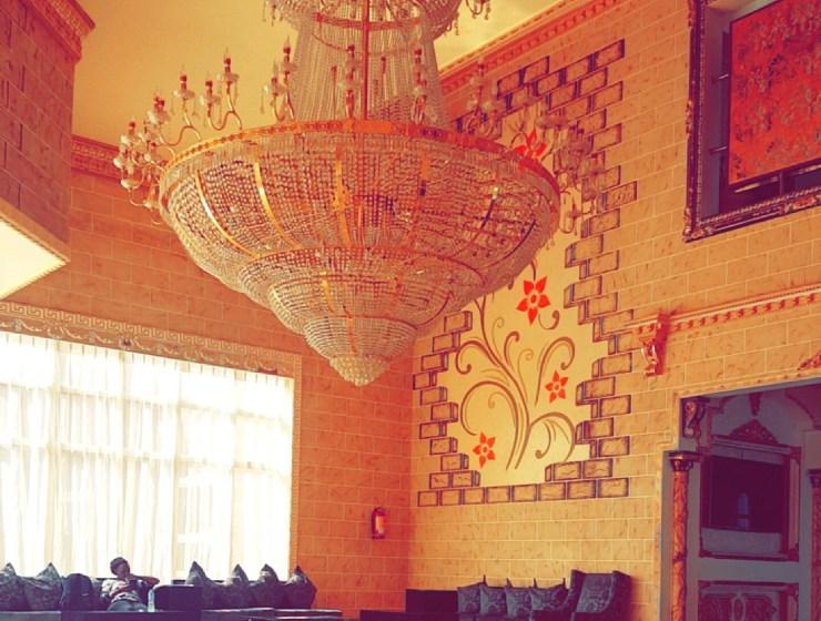 Chandelier AT SANDRALIA HOTEL ABUJA