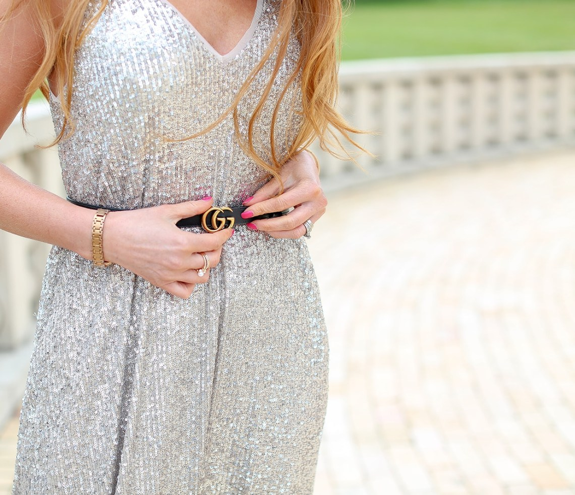 Zara Sequin Dress For Day or Night