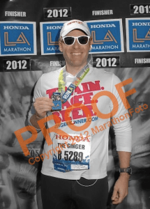 LA Marathon Finisher's Medal